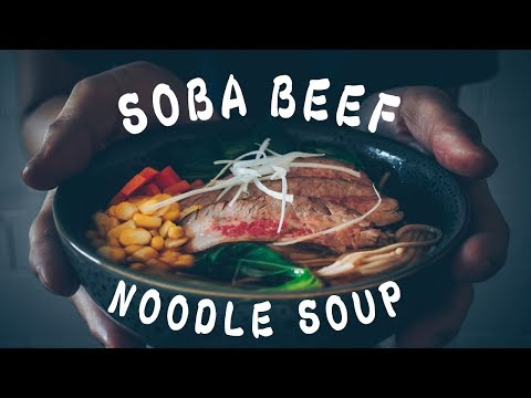 How to Make Soba Beef Noodle Soup