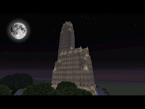 Roosevelt City Old Skyscraper (Minecraft Xbox)