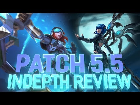 SMITE PATCH 5.5: INCON REVIEW! NEW MATCHMAKING!