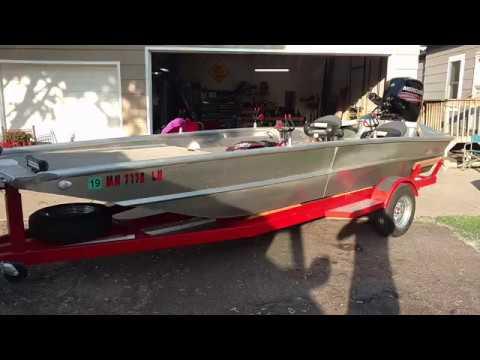 Homemade Jet Boat