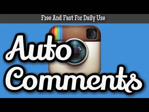 Auto Comments For Instagram