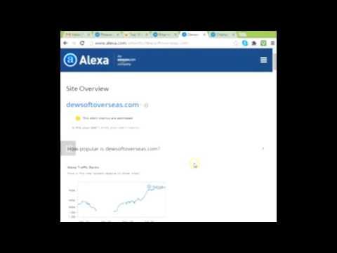 Lesson 23   PESA ALEXA RANK IN INDIA  AMONG TOP VISITING WEBSITES