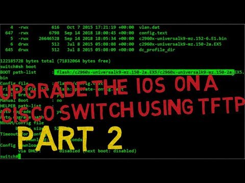 How To Upgrade IOS on Cisco Switch Part2 || Upgrade IOS From Web And USB Flash Drive