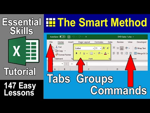 Excel Tutorial: How to use the Microsoft Office Excel Ribbon | ExcelCentral.com