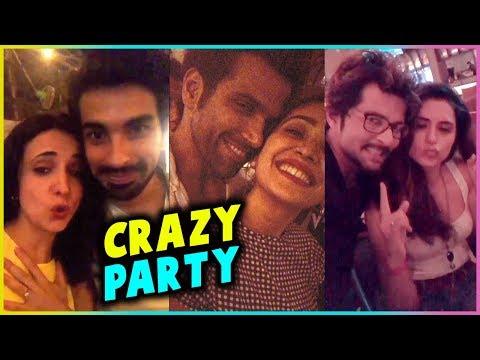 Asha - Rithvik, Sanaya - Mohit & Arjun Bijlani CRAZY PARTY