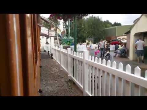 Thomas land train ride Drayton manor