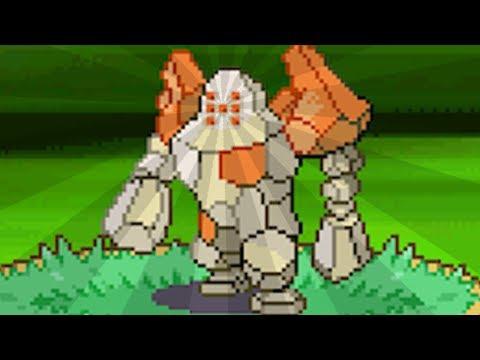 roh, oh a regirock | Pokemon Diamond & Pearl Versus Royale - 14