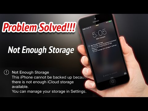 How to fix not enough storage on iCloud - iOS devices