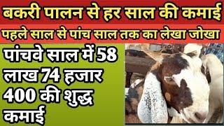 goatfarm ।बकरी पालन से कमाई।।bakri palan se