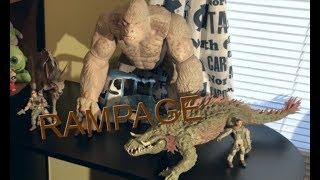 ᴴᴰ Rampage: Destruição Total (2018) - Cena Ataque do Lobo