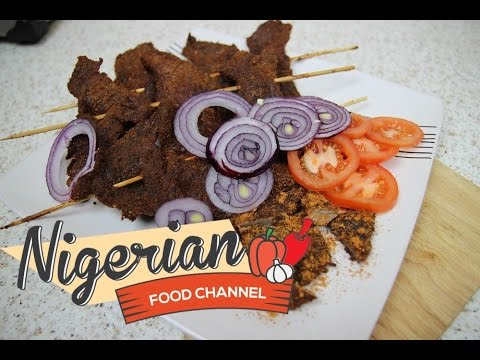 HOW TO MAKE NIGERIAN SUYA | Nigerian Food Recipes 😋😍