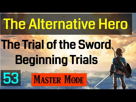 Master Mode Breath of the  Wild - Warming Up Beginner Trials With Upgraded Abilities 053