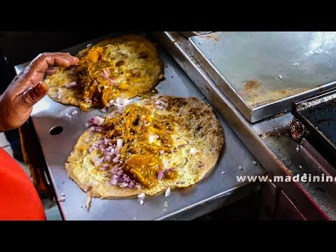 HOW TO MAKE Chicken Kathi Roll | Chicken Frankie | Indian Recipe byculla stition