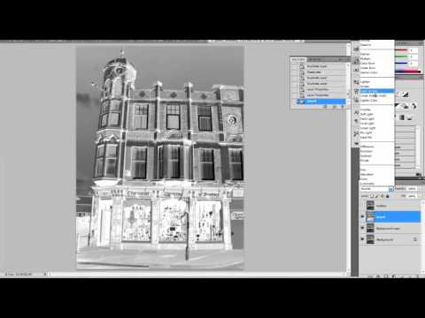 PhotoShop Basics - Photo to Sketch part 1