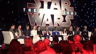 Star Wars: The Last Jedi Press Conference - Adam Driver Answers Question About What Will We Learn