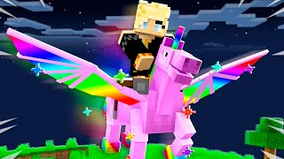 How to Tame a Pet UNICORN in Minecraft!