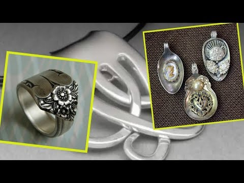 Incredible Jewelry Made from Old Sterling Silver Forks.Crafts to Make and Sell