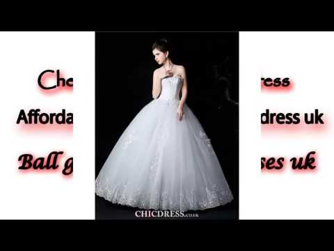 Affordable ball gown wedding dress uk