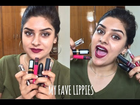My Top 10 Lipsticks for Indian/Dusky Skin
