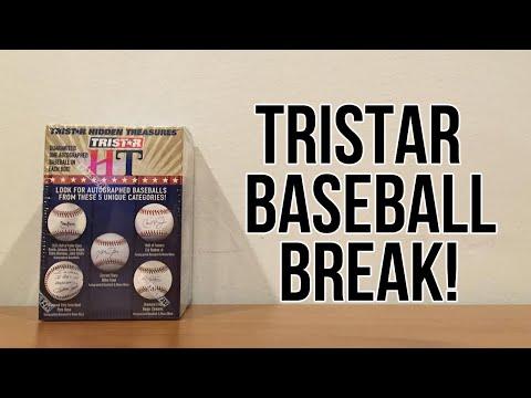 2016 TriStar Hidden Treasures Autographed Baseball Break!
