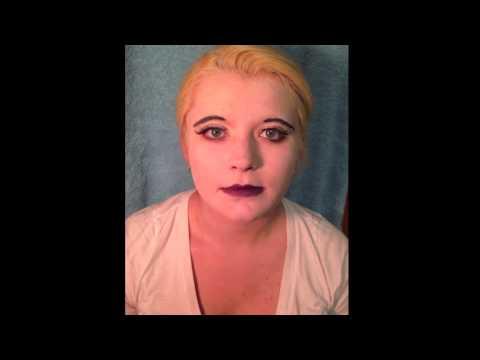 Alice in wonderland stage makeup tutorial