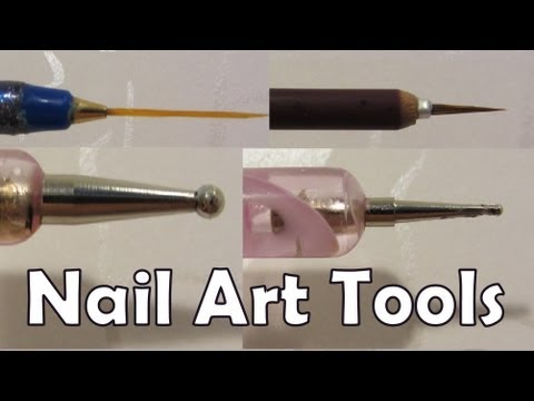 How To Make Your Own Nail Art Tools At Home