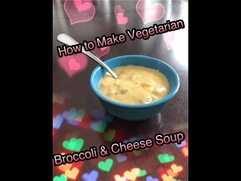 How to Make Vegetarian Broccoli & Cheese Soup in the Crock Pot
