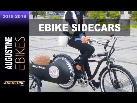 E-Bike.  Sidecars are making a comeback, on bikes