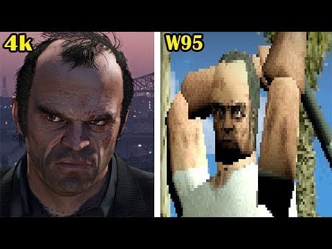 GTA 5 rodando no Windows 95?