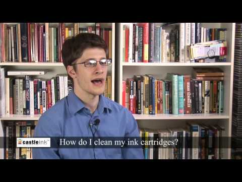 Printer Ink Cartridges - How do I clean my ink cartridges?