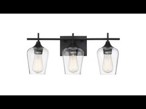Bathroom Vanity Lights Black