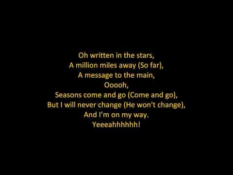 Tinie Tempah - Written In The Stars (feat. Eric Turner) (ON SCREEN LYRICS)