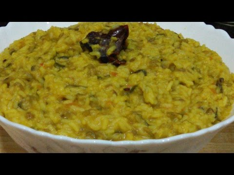 Vegetable Khichadi in Pressure Cooker