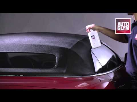 How to use Autoglym Fabric Hood Cleaning Kit