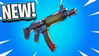 The New SMG Weapon in Fortnite..