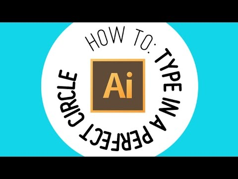 How to type in a perfect circle using Adobe Illustrator