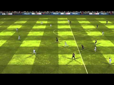 FIFA 14 Android - FC Barcelona VS Granada CF - Long Range shot - Messi! :D