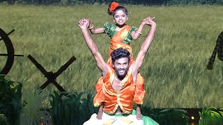 D5 Junior | Outside pair round - Diya & Jinesh | Mazhavil Manorama