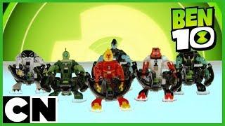 Ben 10 Toys | Omni Launcher Battle Figures | Cartoon Network