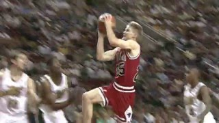 Steve Kerr 1995-96 Highlights with the Chicago Bulls