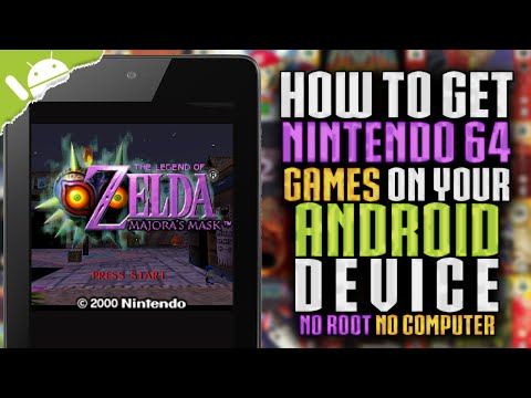 How To Get N64 Games on your Android Device! (NO COMPUTER) (NO ROOT)