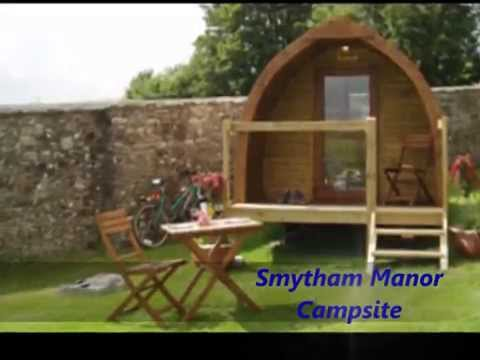 camping pods - log pod - shepherds hut