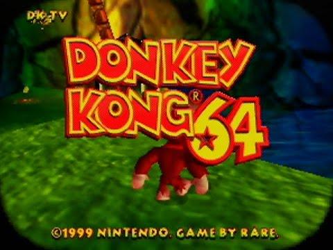 Donkey Kong 64 - Intro Video