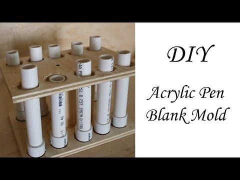 DIY Acrylic Pen Blanks (part 1)