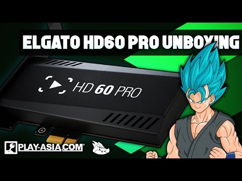 ANTOHER ONE?!? Opening the Elgato Game Capture HD60 Pro! Sponsored by @PlayAsia