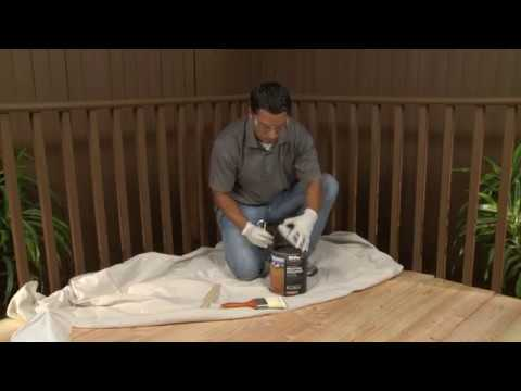 BEHR Stain & Finish Project How To's: Project Tips