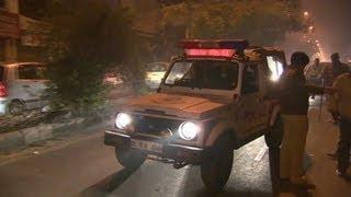 CNN rides along with Delhi police