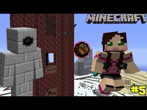 Minecraft: PUSH THE GOLEM CHALLENGE [EPS6] [5]