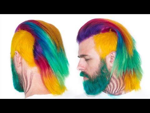 Semi Permanent Rainbow Hair Tutorial & How to Remove Color!! Arctic Fox  | KristenLeanneStyle