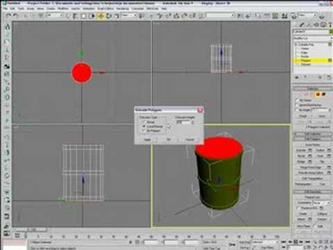 3ds Max tutorial : Barrel